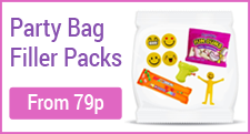 Party Bag Filler Packs from only 79p